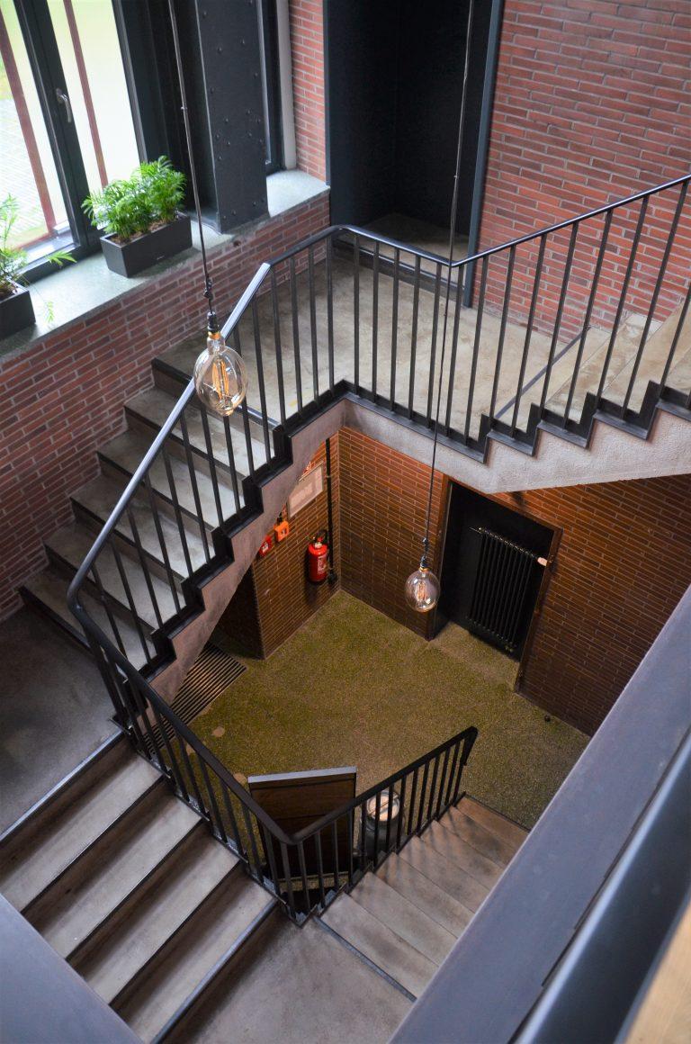 Gesamtansicht Treppe Zeche Zollverein
